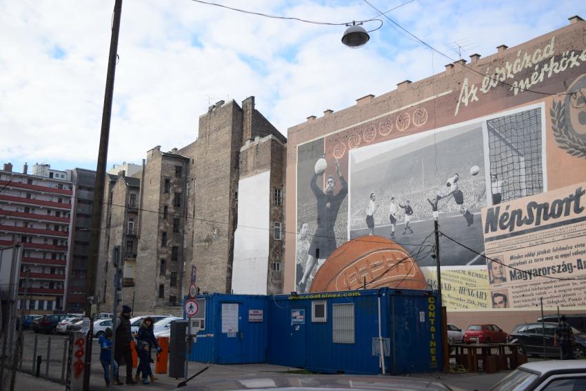 Das Jüdische Viertel in Budapest Street Art