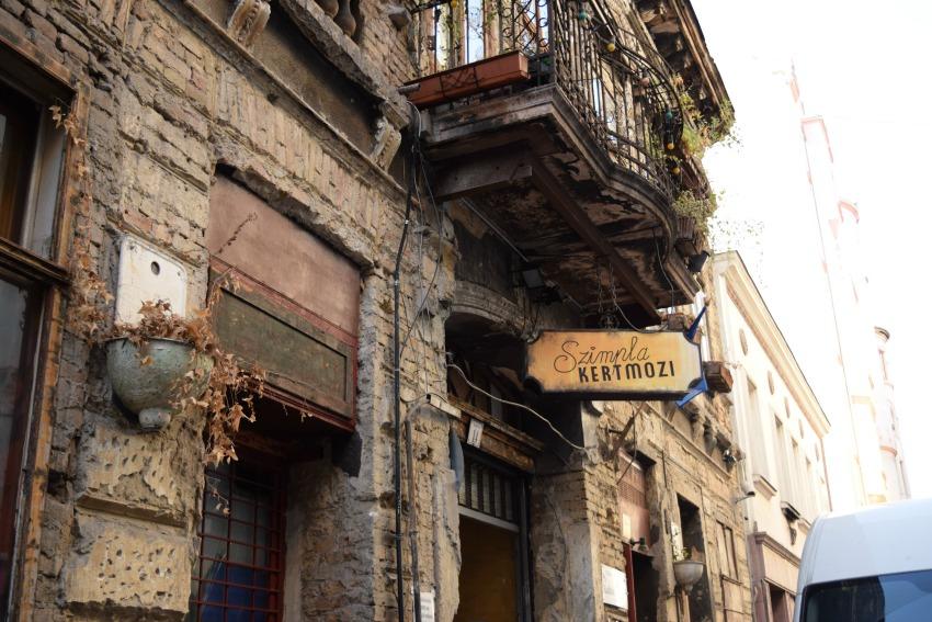 Das Jüdische Viertel in Budapest Szimpla