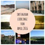 Instagram Lieblinge von April 2016