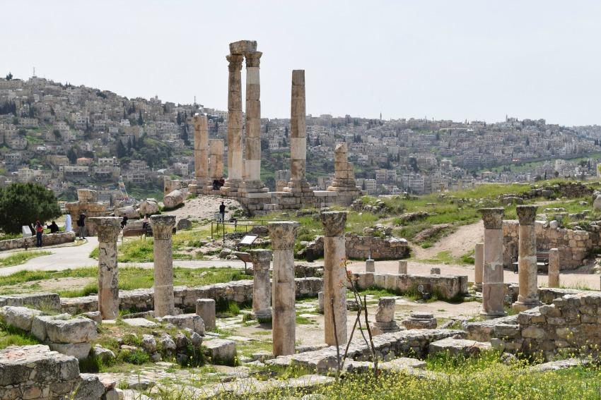 Jordanien Herkules Tempel