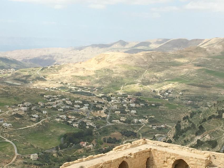 Jordanien Kerak Ausblick