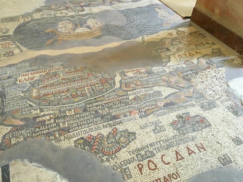 Jordanien Mosaik