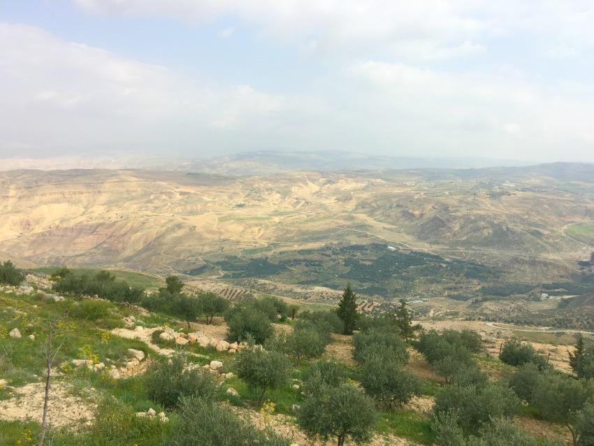 Mount Nebo - Von hier soll Moses auf das gelobte Land geblickt haben