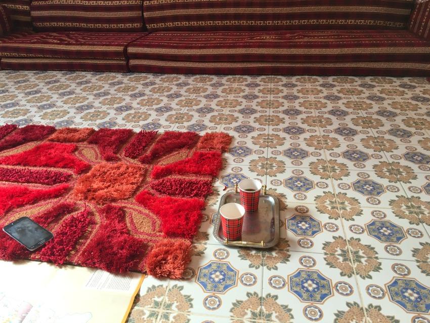Jordanien Tee im Beduinenhaus