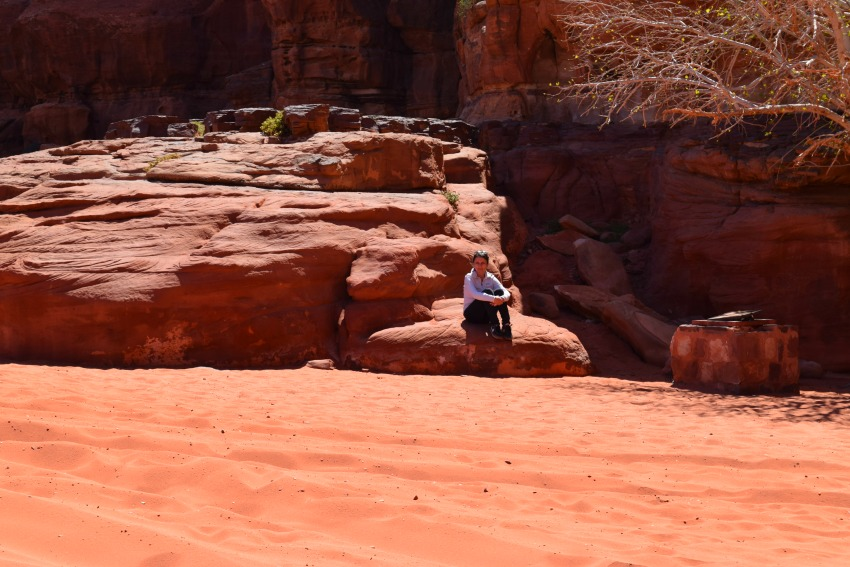 Jordanien Wadi Rum Farben
