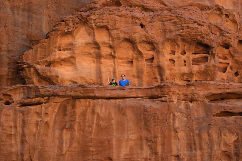 Jordanien Wadi Rum Klettern