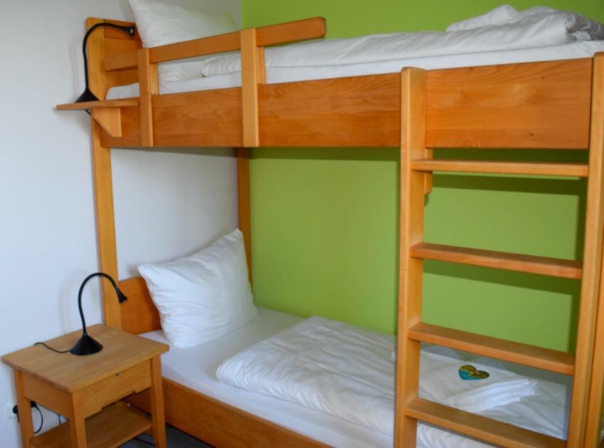 DJH Resort in Neuharlingersiel Betten für Kinder