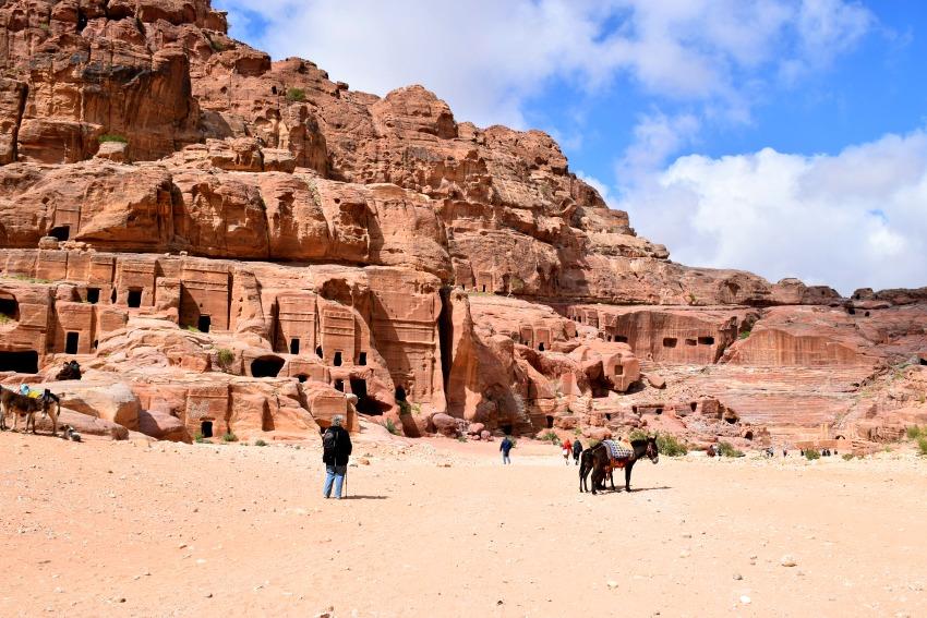 Jordanien Petra Fassadengräber