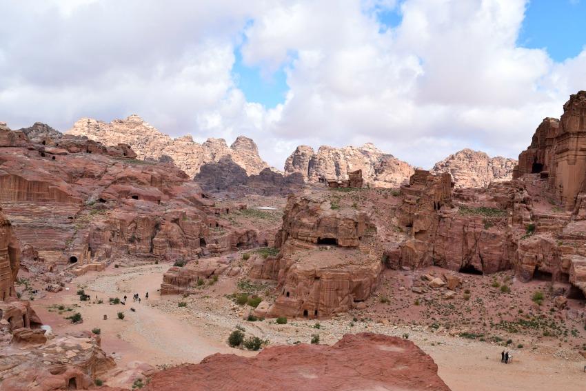 Jordanien Petra Platz