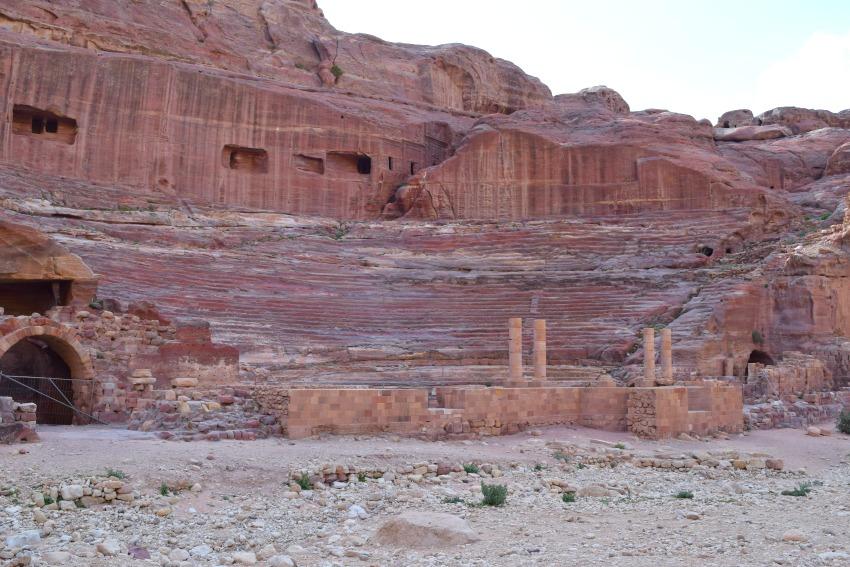 Jordanien Petra Theater
