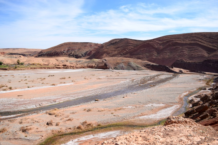 Marokko Mondlandschaft