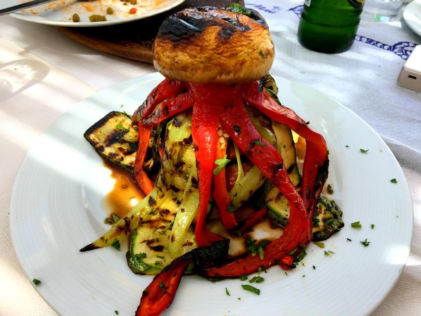 Astypalea Gemüse Oktopus Barbarossa