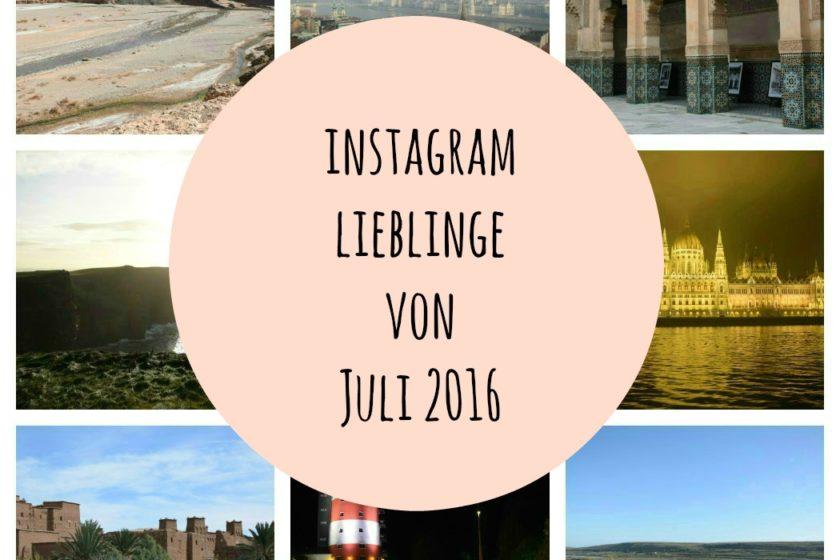 Instagram Lieblinge von Juli 2016