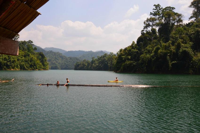 Thailand Khao Sok Nationapark Boote