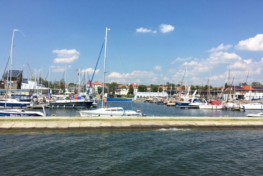 Masuren Reisetipps Hafen Gizycko