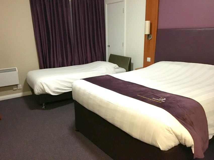Premier Inn London County Hall Betten