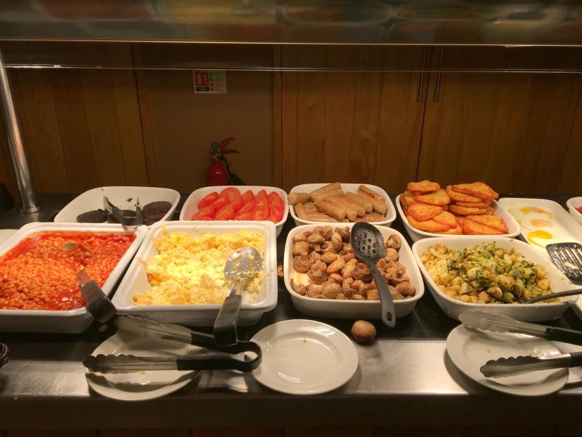 Premier Inn London County Hall Frühstück