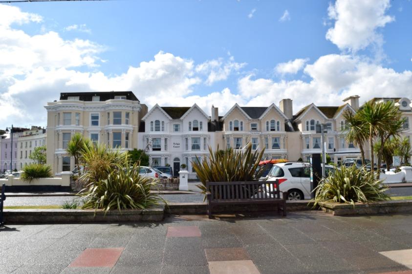 Sprachreise für Familien Teignmouth Promenade