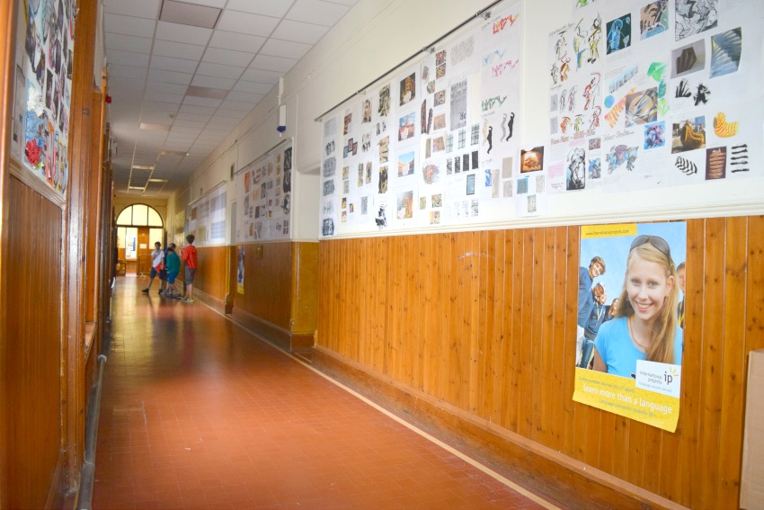 Sprachreise für Familien Trinity Schoo Gang