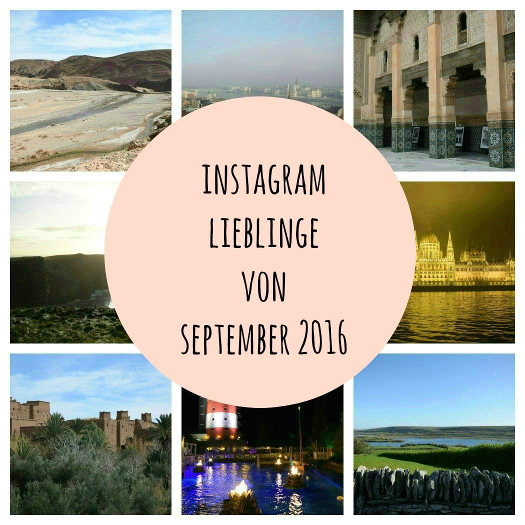 Instagram Lieblinge von September 2016