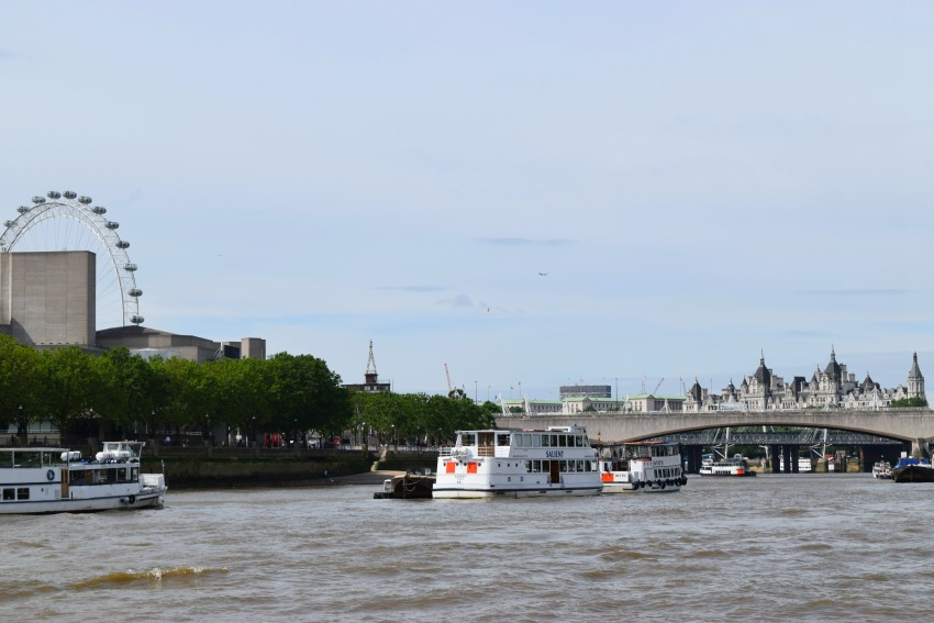 London mit Kind Bootstour