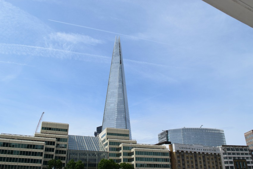 London mit Kind The Shard