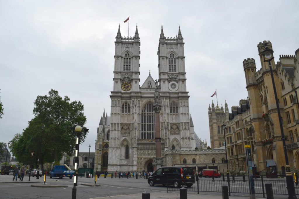 London mit Kind Westminster Abbey