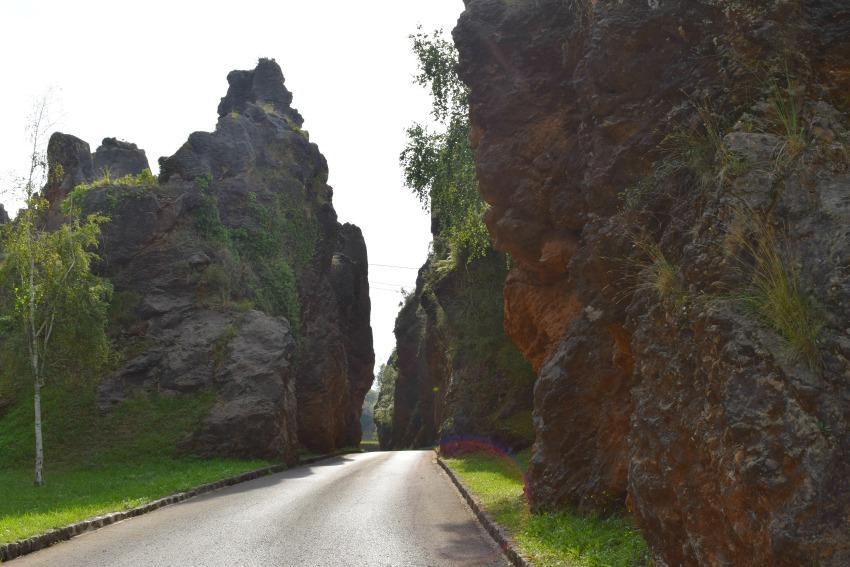 Besuch im Naturpark Cabárceno Weg