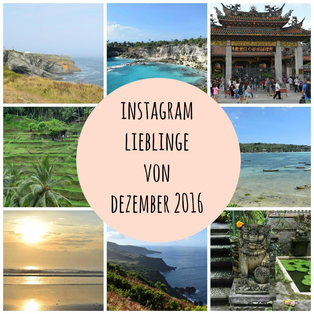 Instagram Lieblinge von Dezember 2016