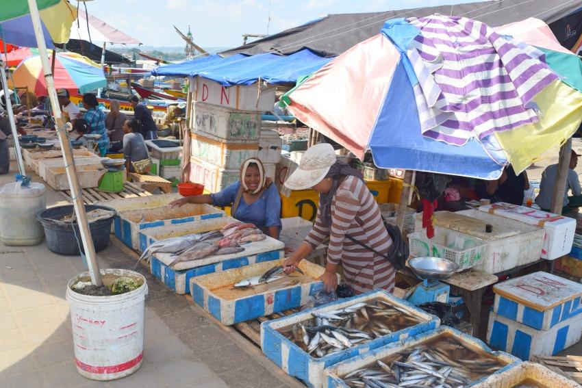 Meine Bali Tops & Flops Jimbaran Fischmarkt