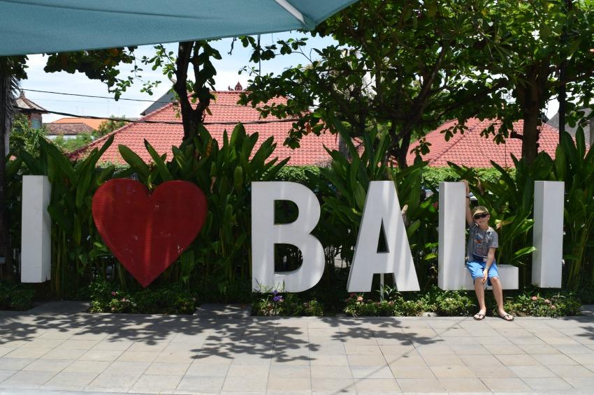 Meine Bali Tops & Flops Schriftzug