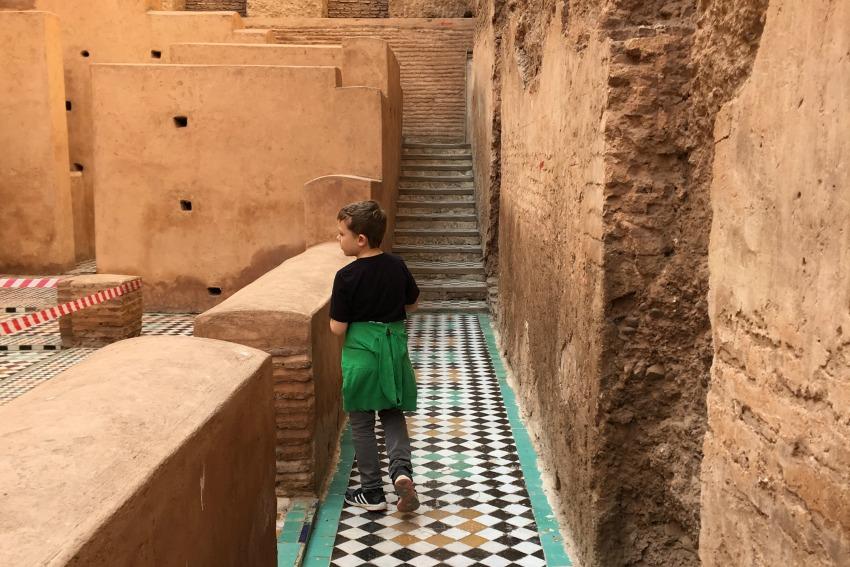 Und tschüss 2016 Marrakesch El Badi