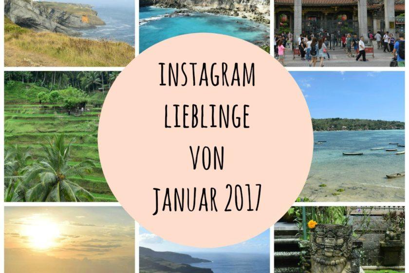 Instagram Lieblinge von Januar 2017