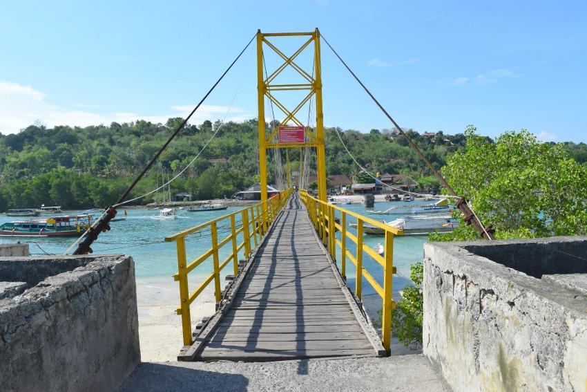 Nusa Lembongan Brücke nach Nusa Ceningan
