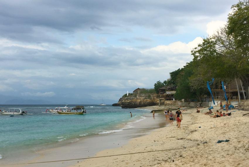 Nusa Lembongan Mushroom Beach