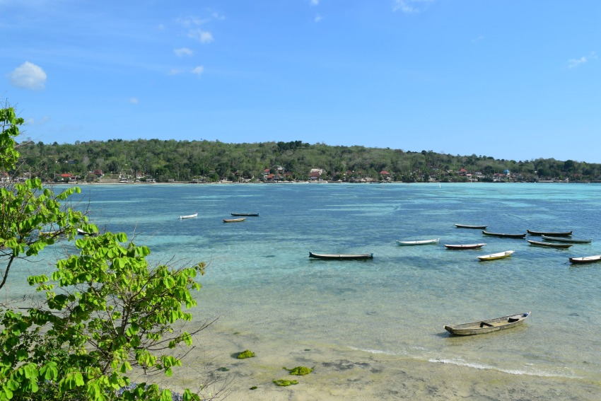 Nusa Lembongan Seaweed farm