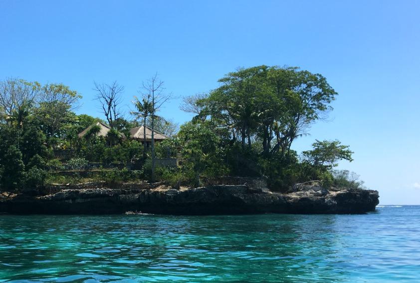 Nusa Lembongan vom Wasser