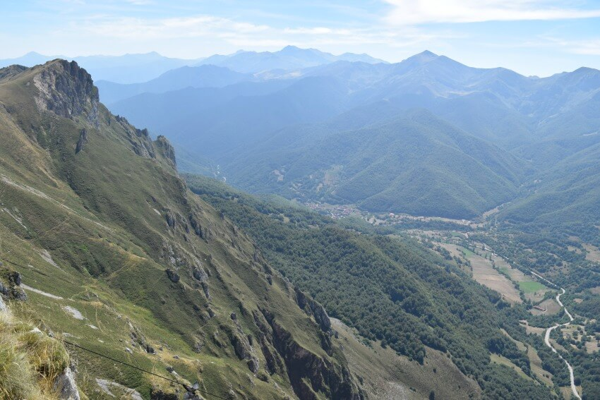 Picos de Europa - Fuente Dé Ausblick auf die Berge
