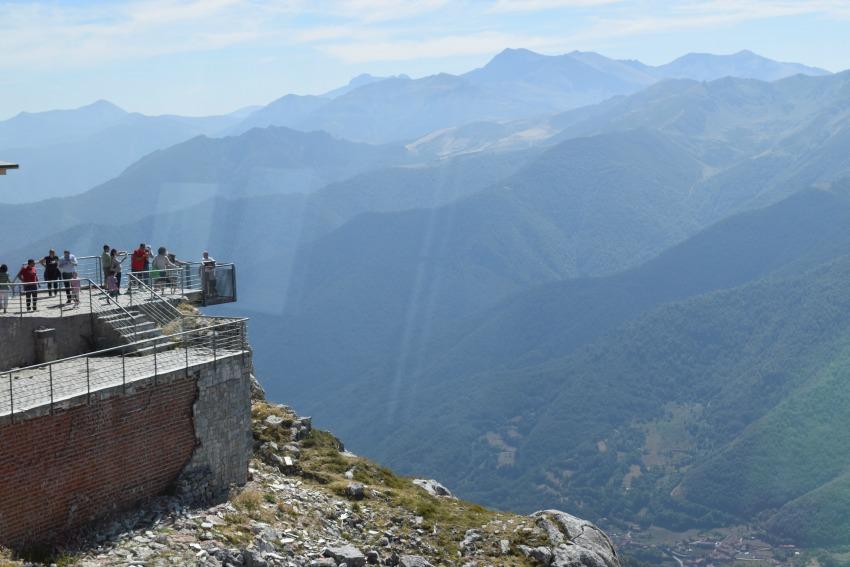 Picos de Europa - Fuente Dé Ausblick