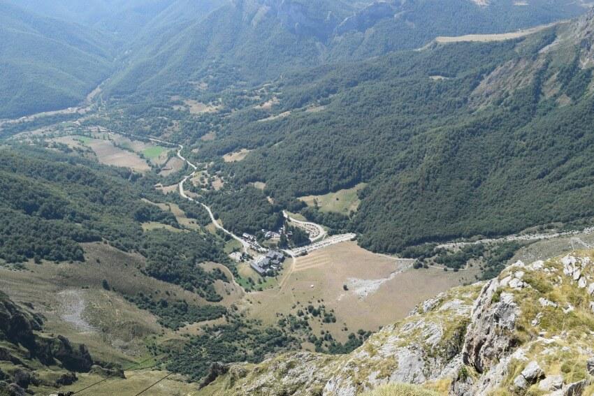 Picos de Europa - Fuente Dé Gondelstation