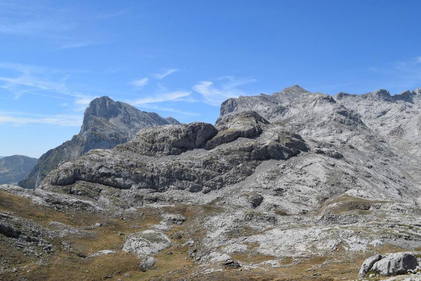 Picos de Europa - Kalksteinformationen