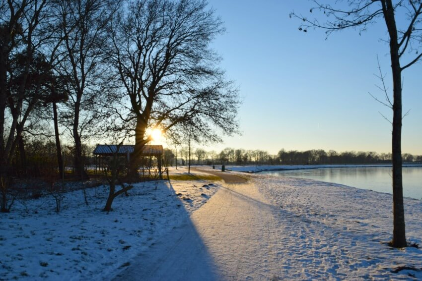 Winterspaziergang am Lohner See 1