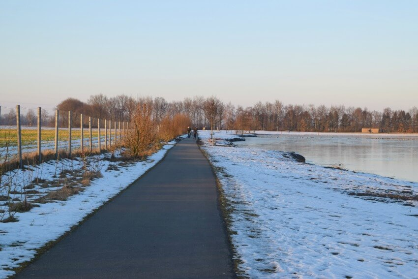 Winterspaziergang am Lohner See 4