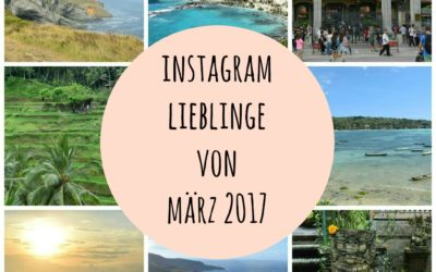 Instagram Lieblinge von März 2017