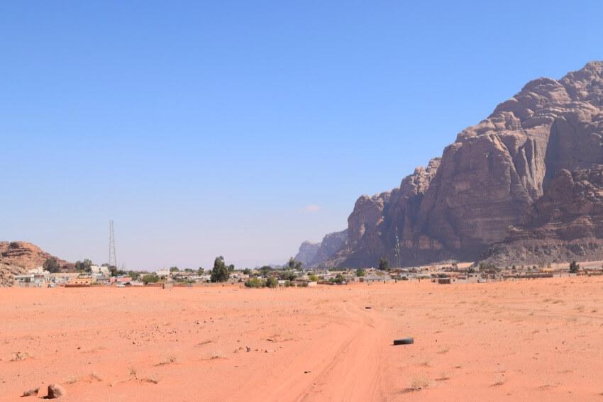Impressionen von der Wüste Wadi Rum Dorf