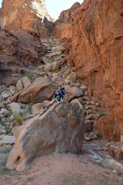 Impressionen von der Wüste Wadi Rum Klettern