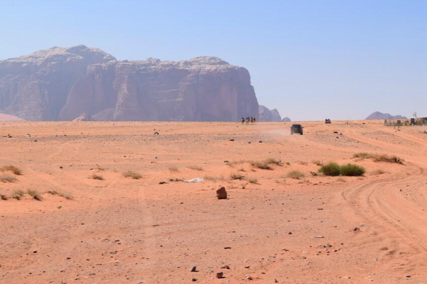 Impressionen von der Wadi Rum Wüste