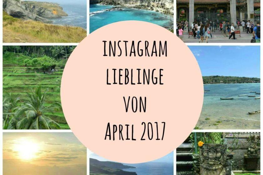 Instagram Lieblinge von April 2017