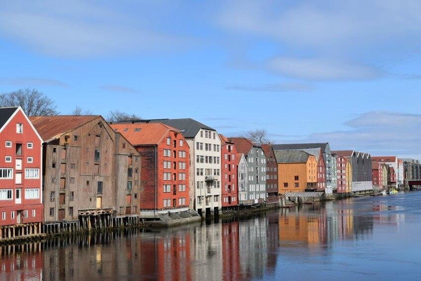 Norwegen - Blick von Old Town Bridge