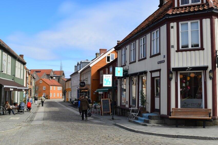 Norwegen - Trondheim Altstadt